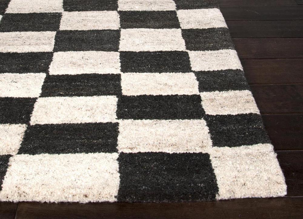 Black And White Checkered Rug