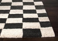 Black And White Checkered Rug | Best Decor Things