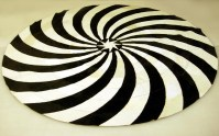Black And White Round Rug - Rugs Ideas