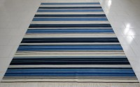 Blue And White Striped Rug 58 | Best Decor Things