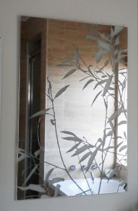 Etched Glass Mirrors Bathroom | Best Decor Things