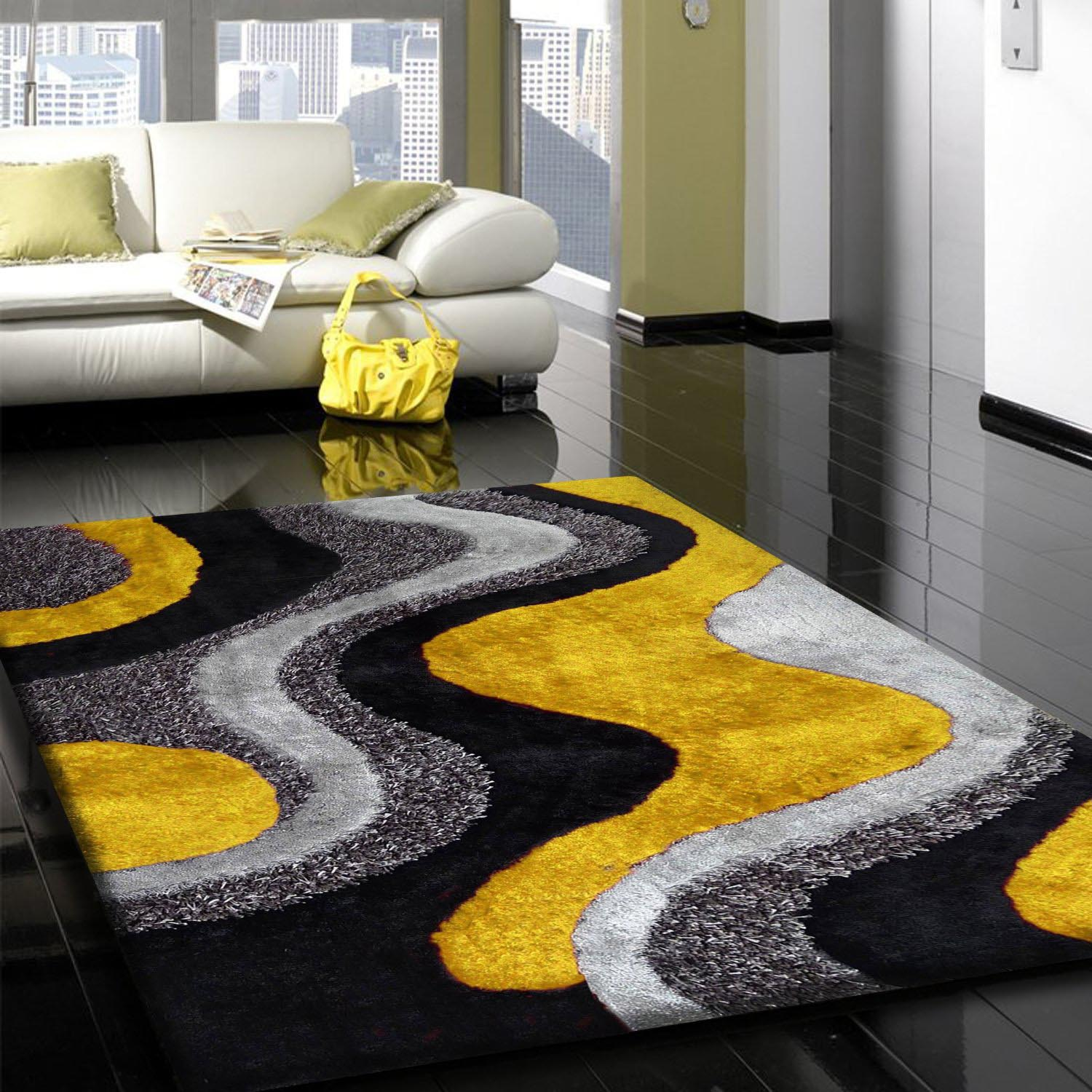 Gray And Yellow Rug  Best Decor Things