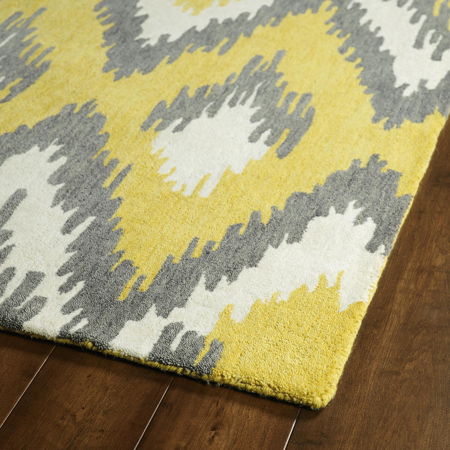 Grey Yellow Area Rug  Best Decor Things