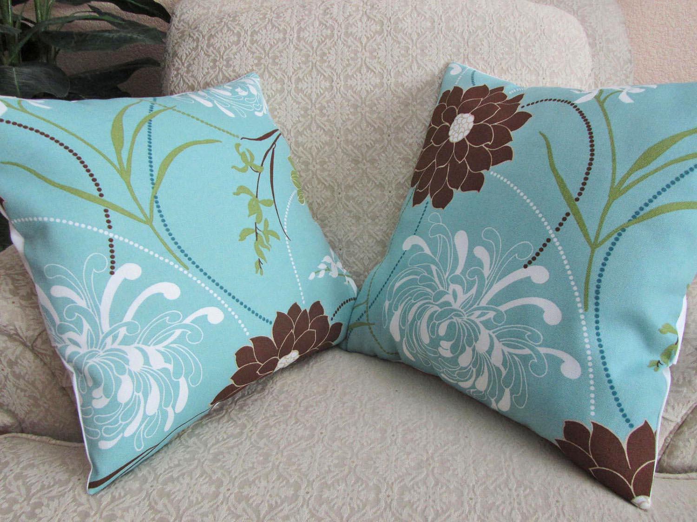 cushion ideas for light brown sofa henredon fireside h9300 c blue and pillows decorative