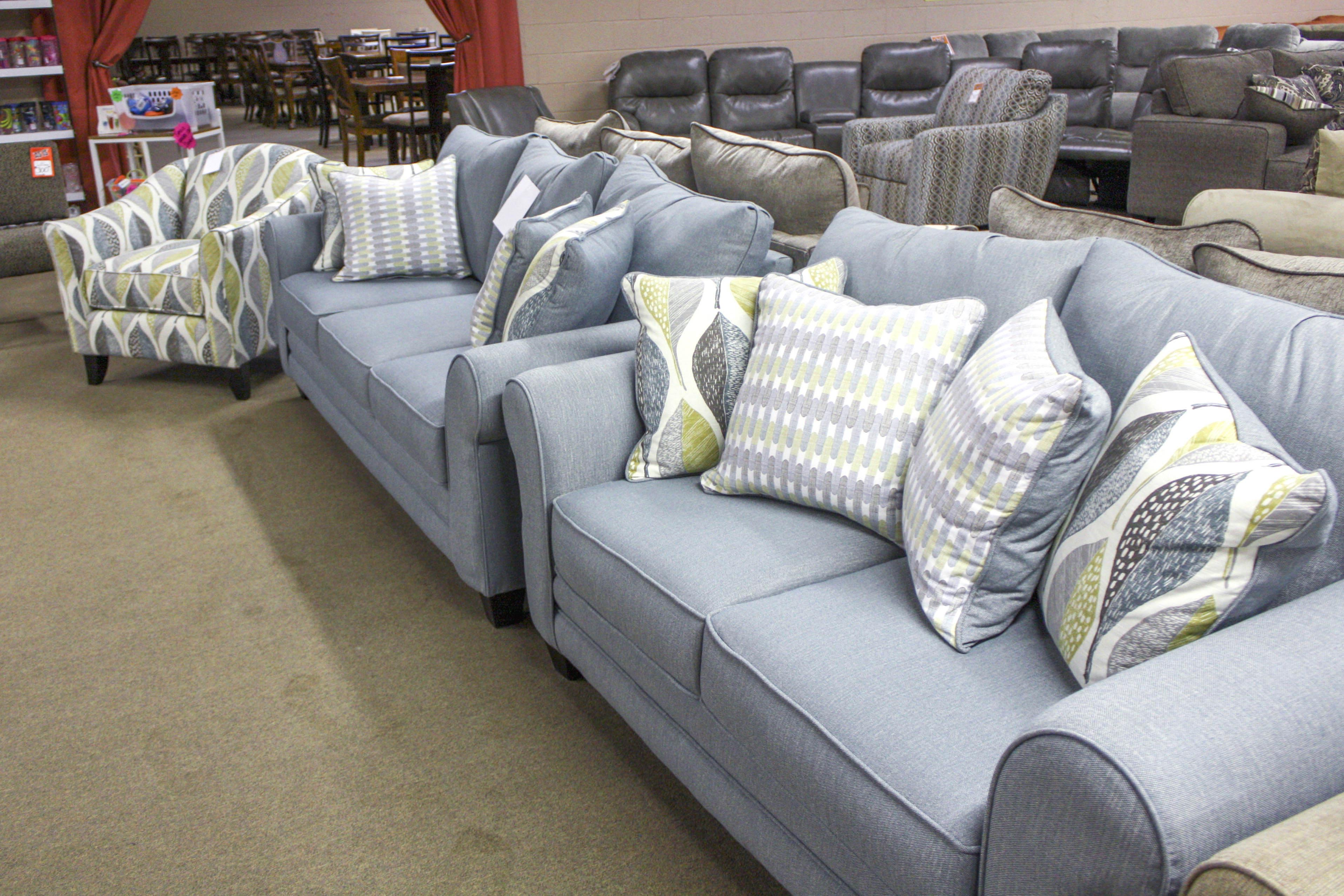 Light Blue Pillows Bring Elegance to Your Sofa  Best