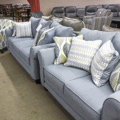 Light Blue Sofa Decorating Ideas Chesterfield Leather And Fabric Couch Decor