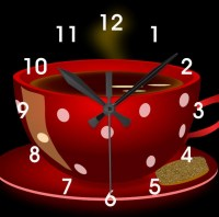 Red Kitchen Wall Clocks | Best Decor Things