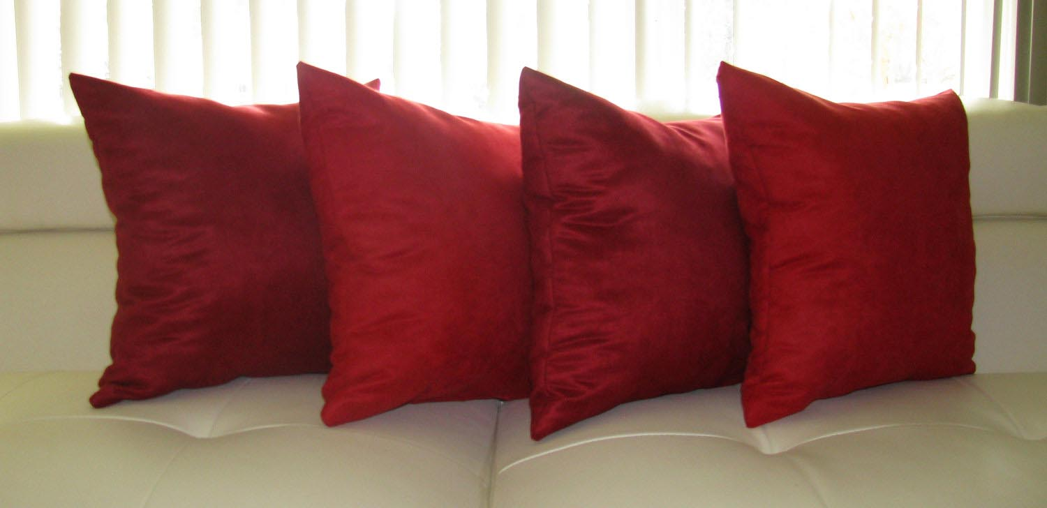 Red Throw Pillows For Sofa  Best Decor Things