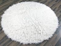 White Fluffy Carpet