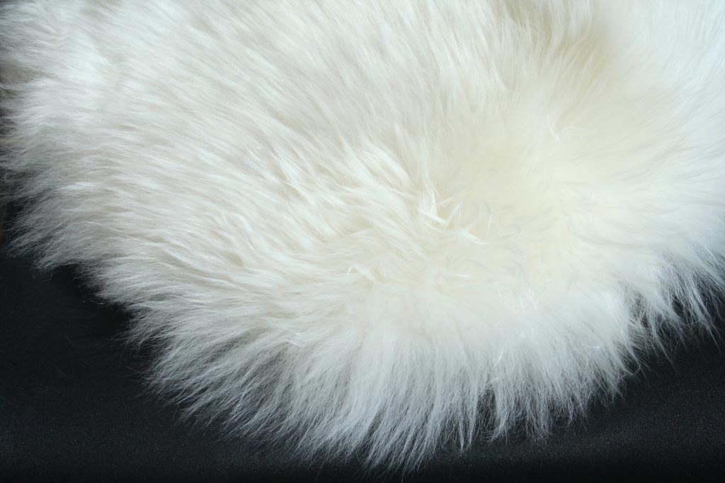 Small White Furry Rug  Best Decor Things