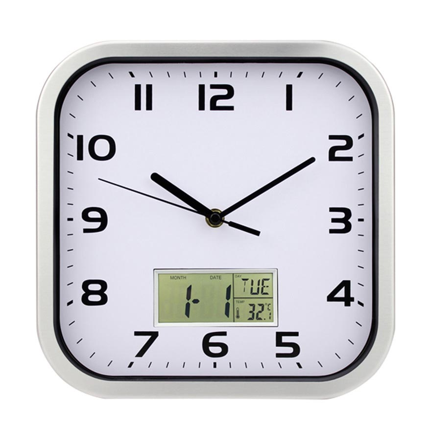Square Kitchen Wall Clocks  Best Decor Things