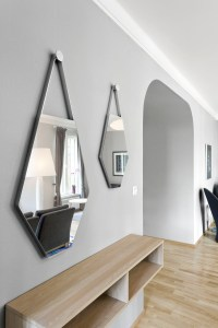 Do it Yourself: Unique Bathroom Mirrors
