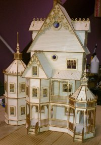 Victorian Dollhouse Furniture Kits   Best Decor Things