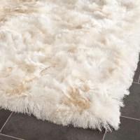 fuzzy white rug   Roselawnlutheran