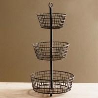 Decorative Wire Baskets Kitchen - Home Design Ideas and ...