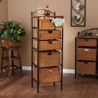 Storage Shelf With Baskets | Best Decor Things