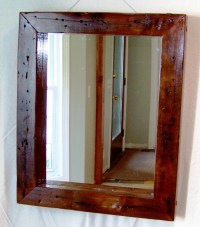 Cherry Wood Framed Mirrors | Best Decor Things
