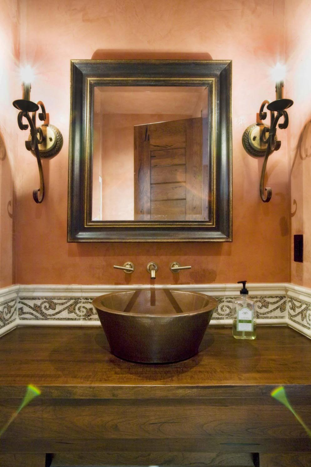 How to Create Rustic Bathroom Mirrors Design?
