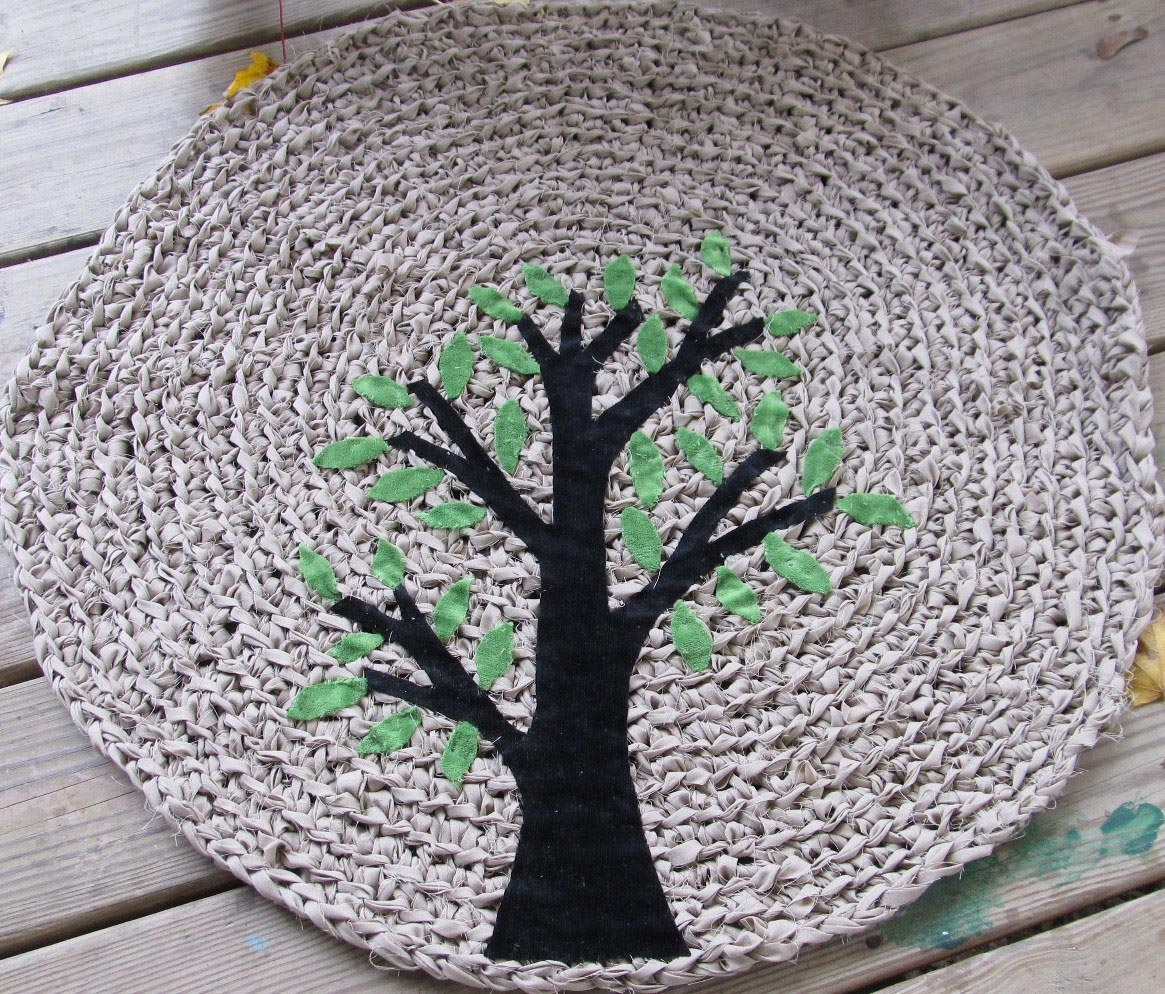 Create Your Modern Crochet Rag Rug  Best Decor Things
