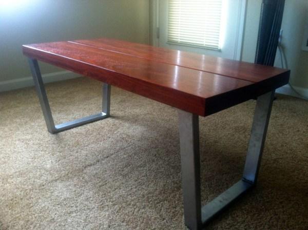 Modern Coffee Tables Metal Legs