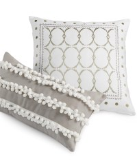 Grey And White Decorative Pillows | Best Decor Things