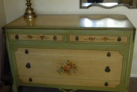 Hand Painted Furniture - hand painted furniture home decor ...