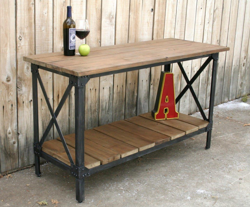 Industrial Metal And Wood Furniture  Best Decor Things