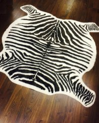 Large Zebra Print Rug | Best Decor Things