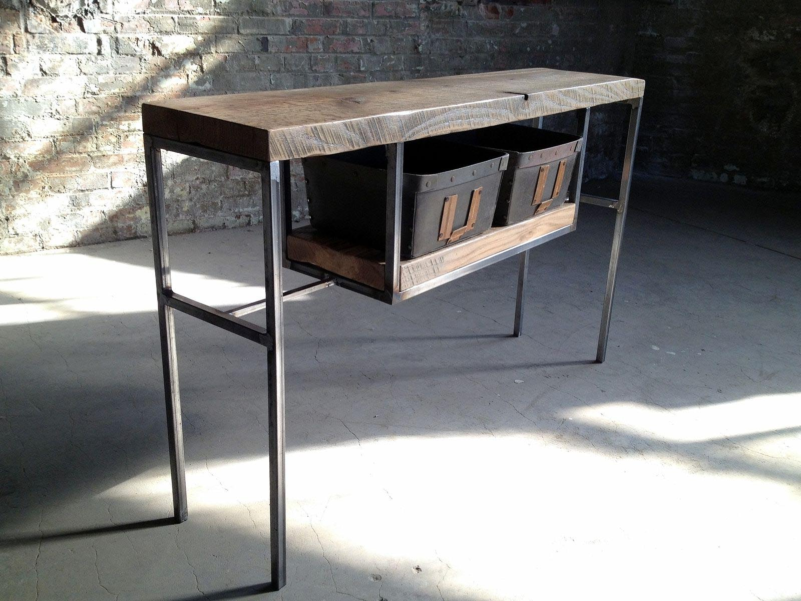 Reclaimed Wood And Metal Furniture  Best Decor Things