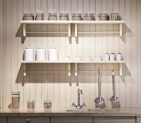 White Kitchen Wall Shelves   Best Decor Things