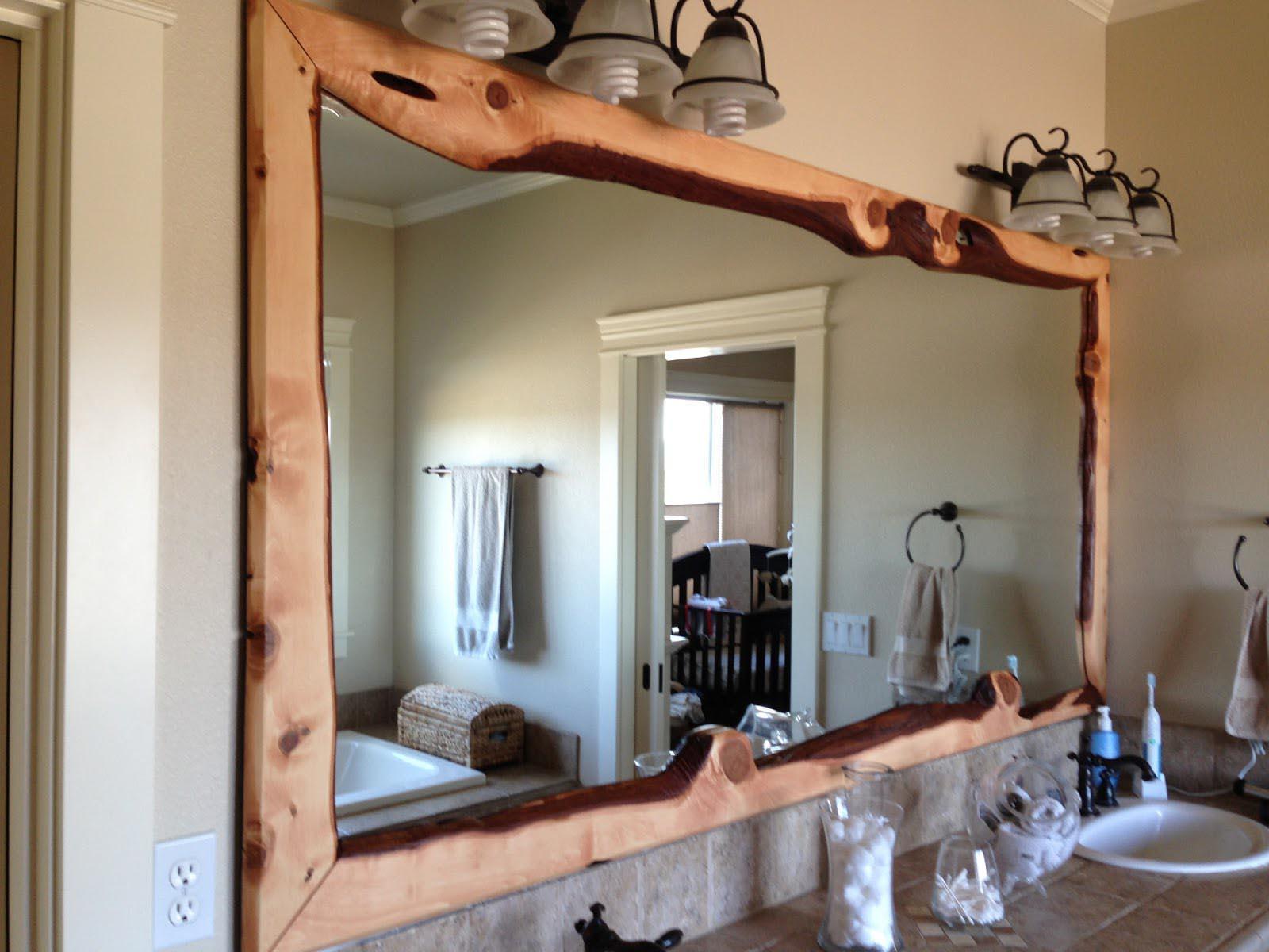 Wood Framed Bathroom Mirrors  Best Decor Things