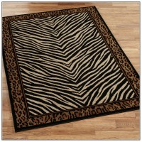 Zebra Print Rug 810 | Best Decor Things