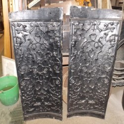 Cast Iron Fire Sides