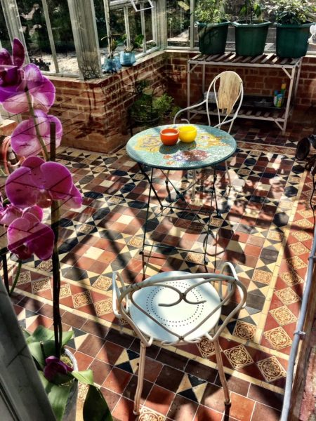 Victorian Mosaic Tile Floor