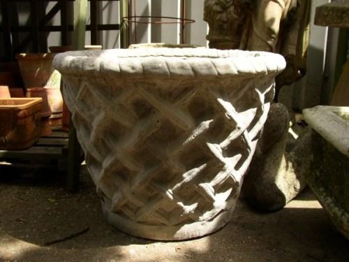 Large Basket Tub
