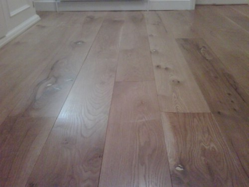 Solid Character Oak Boarding