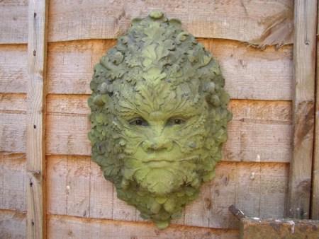 Oak Leaf Green Man Mask