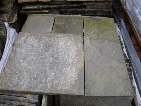 Reclaimed Black Sandstone