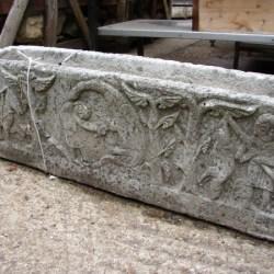 Italian Stone Trough Medieval Style