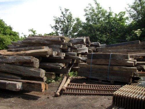 Oak Beam Stack