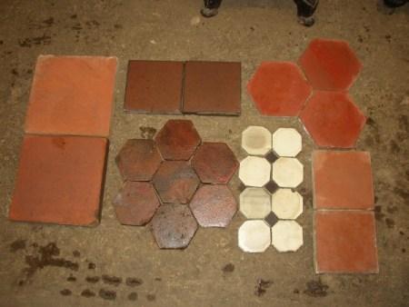 Various Floor Tiles