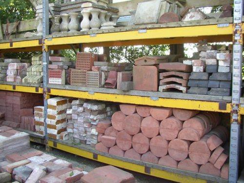 Various Shaped & Coping Bricks