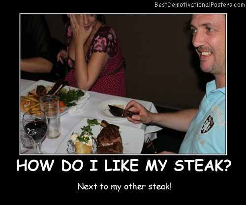 Meat Demotivational Posters  Images