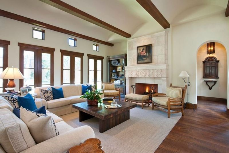 MediterraneanStyle living room design ideas