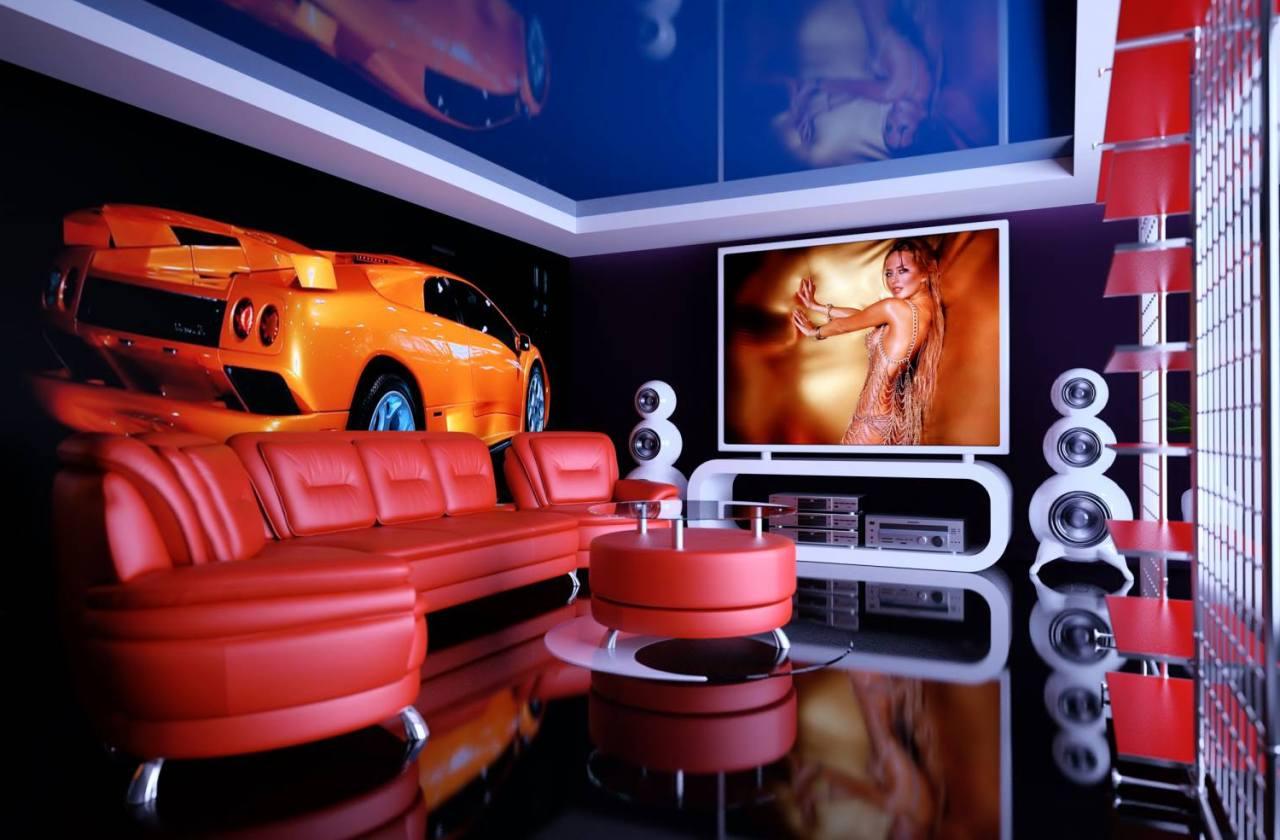 Techno Style interior design ideas