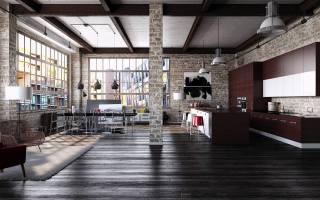 How to create a modern interior in loft style