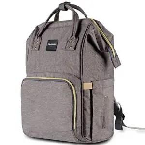 HaloVa Large Capacity Diaper Bag