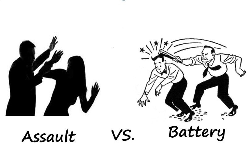 Difference between Assault and Battery