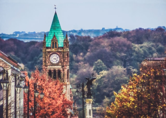 Where to stay in Derry - Walled City & City Centre