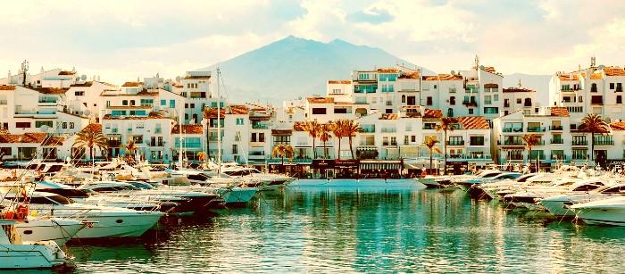 Mejor zona donde alojarse en Marbella para vida nocturna - Puerto Banús